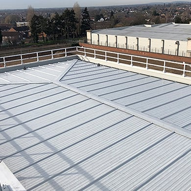 Liquid Coated Roofs